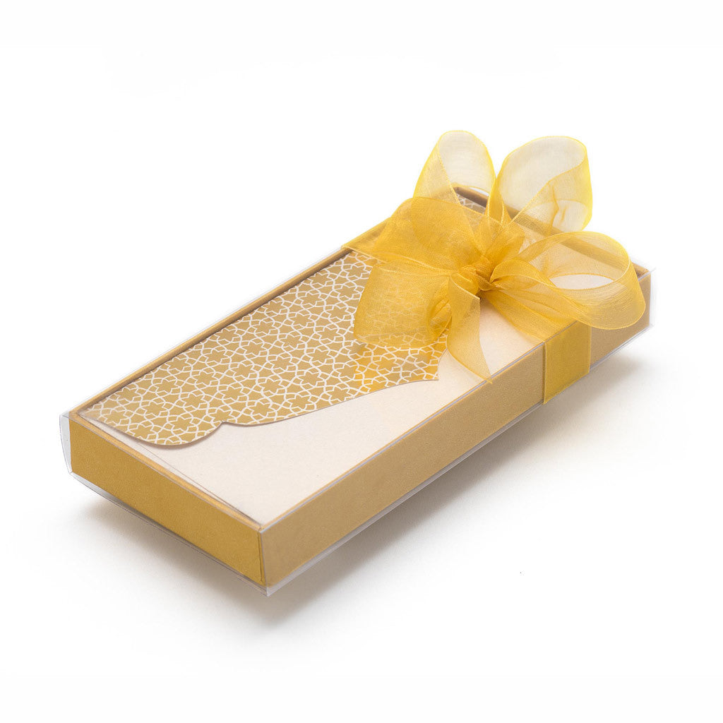 Pastel Gold Money Envelope
