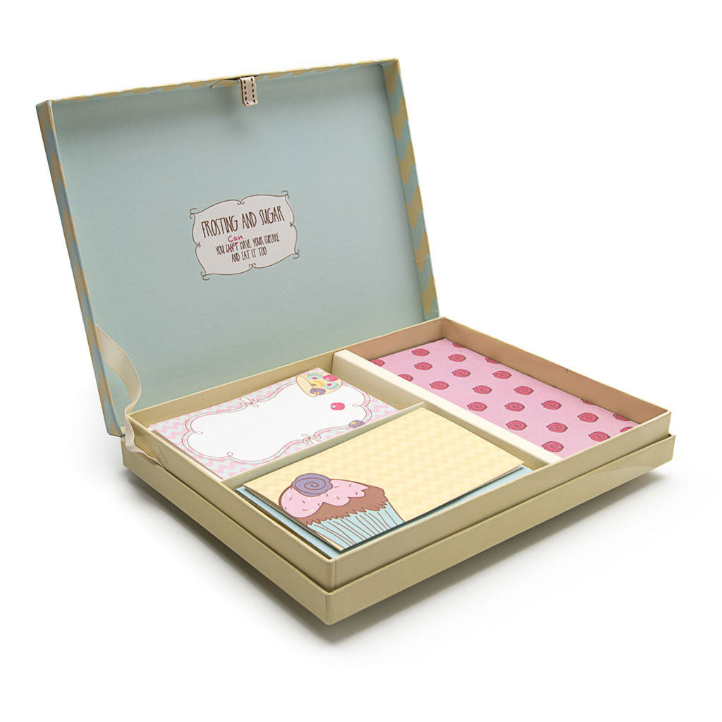 The Dessert Tasting Stationery Set