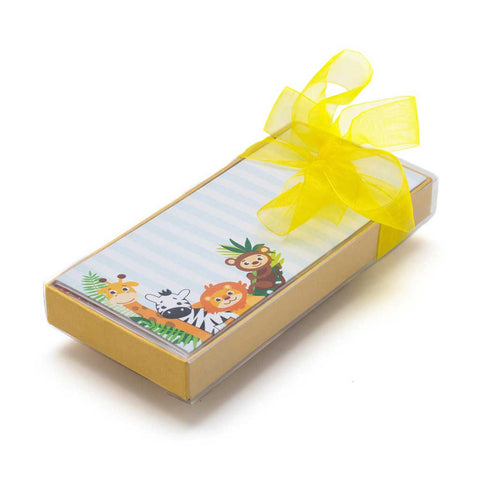 Get this Jungle themed money envelope set online from The Papier Project.