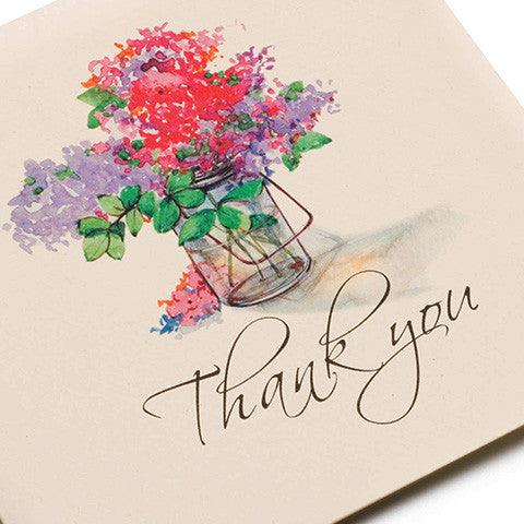 Florid Appreciation Greeting Card