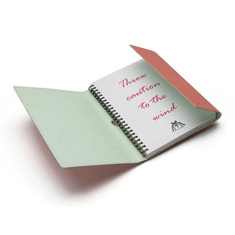 Office stationery online: Throw Caution to the Wind Journal