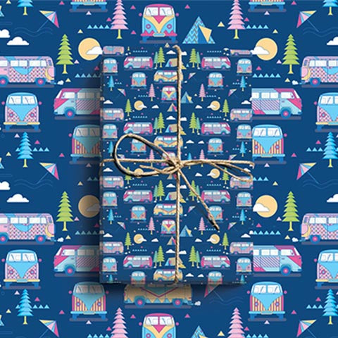 Transport wrapping paper