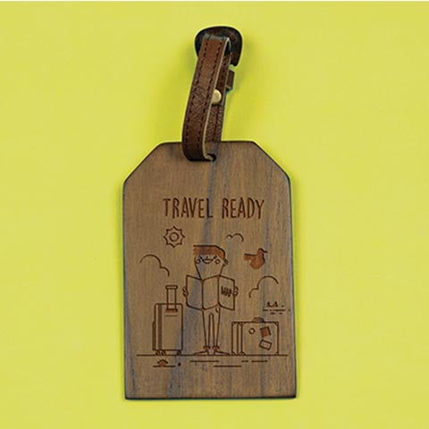 Travel Ready Boy tag
