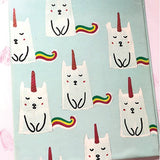 Unicats Hand Painted Folder