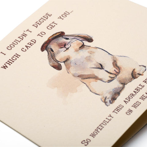 When All Else Fails Greeting Card