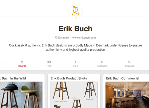 Erik Buch on Pintrest
