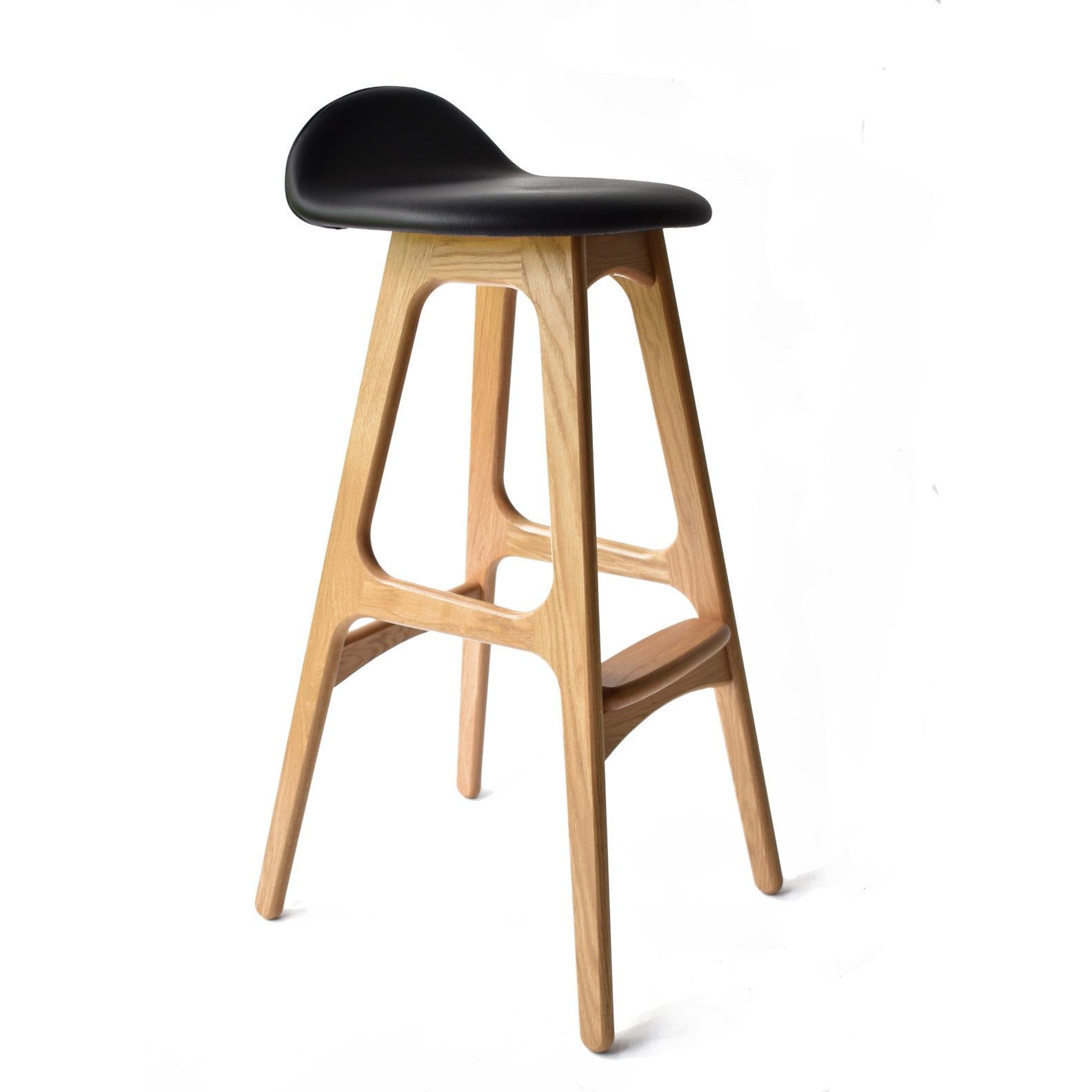 Elegant solid Wood Bar Stool