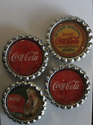 Coke Classic Flat Bottle Cap Super Strong Magnets