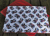 Handmade Patriotic Eagle Placemats