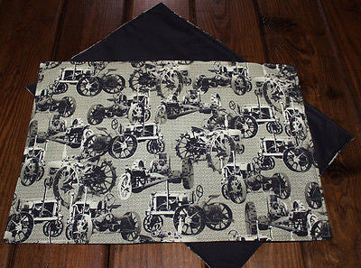 Handmade Vintage Tractor Placemats