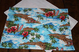 Handmade Tropical Island Placemats