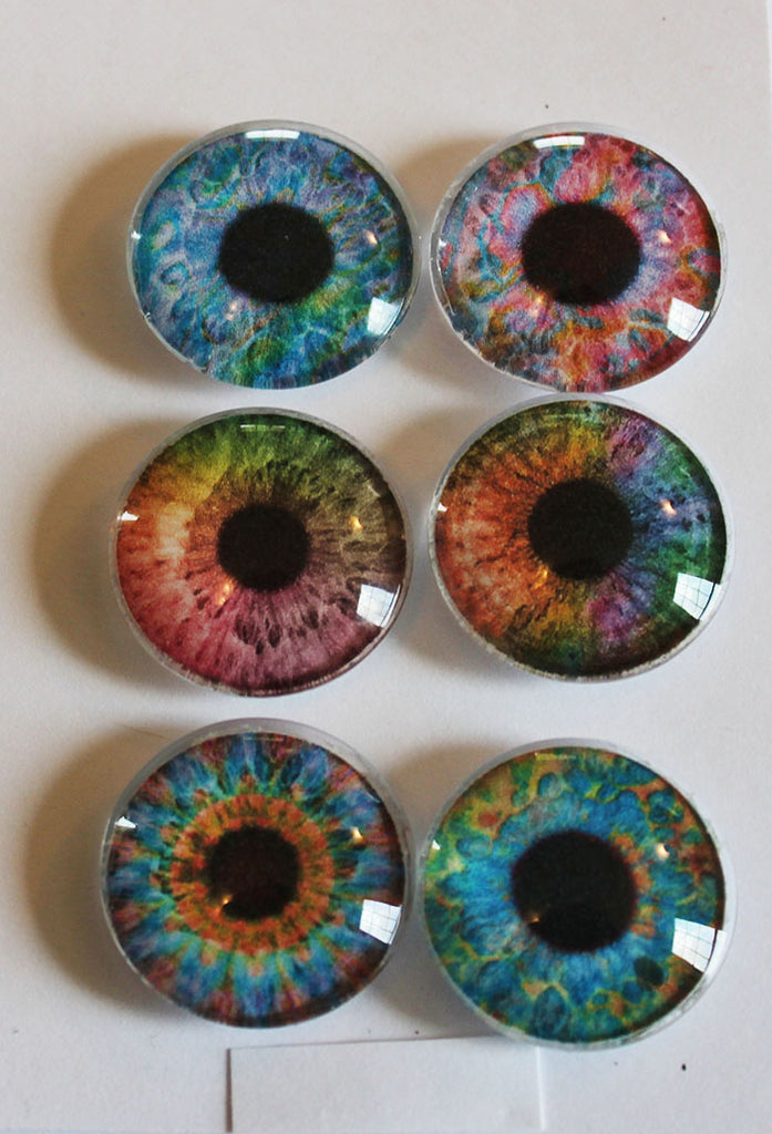 Bright Eyes Glass Gem Super Strong Magnets