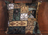 Woodland Bears Removable Decorative Throw Pillow Cover