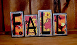 Fall Word Block