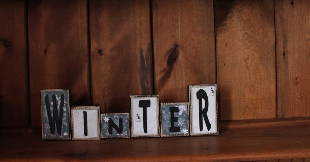 Winter Word Block