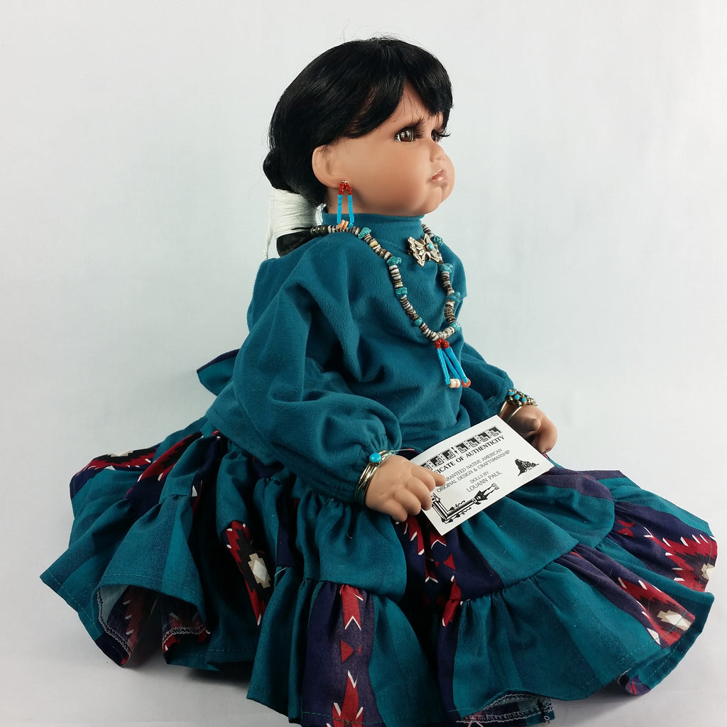 The Beauty of the Native American Doll