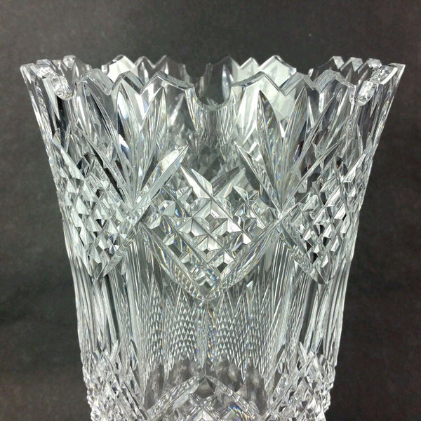 Waterford Crystal Glass Jim O Leary Vase Limited Edition
