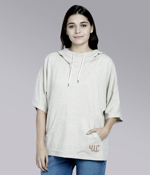 YWC Boxy Fit Sweat with Hood