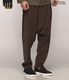 Signature Drop Crotch Pants – Military Green