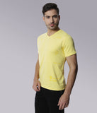 YWC Organic Cotton Printed T-shirt - YELLOW