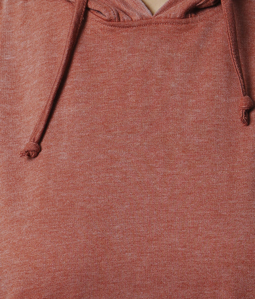 YWC Sleeveless Hoodie - ORANGE
