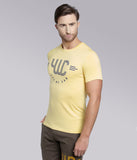 YWC Supima Cotton Logo-Print T-shirt - YELLOW
