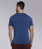YWC Supima Cotton Muscle Fit T-shirt - BLUE