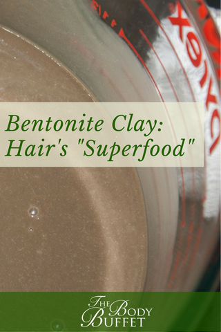 "Bentonite Clay: ""Superfood"" for Hair"