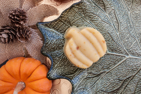 Pumpkin Spice Soap Artisan Bar Handmade Autumn Fall Gifts Vegan