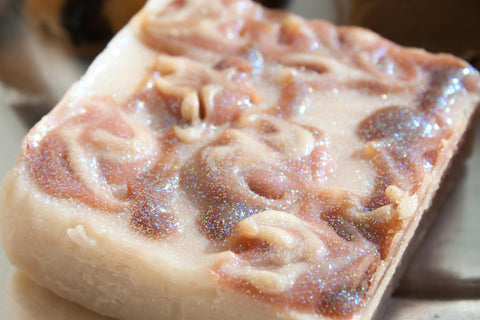 """Blossoms on Belmont"" Artisan Soap Scented with Cherry Blossom"