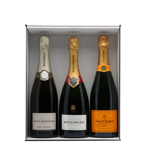 Trio Champagne Brands Giftbox