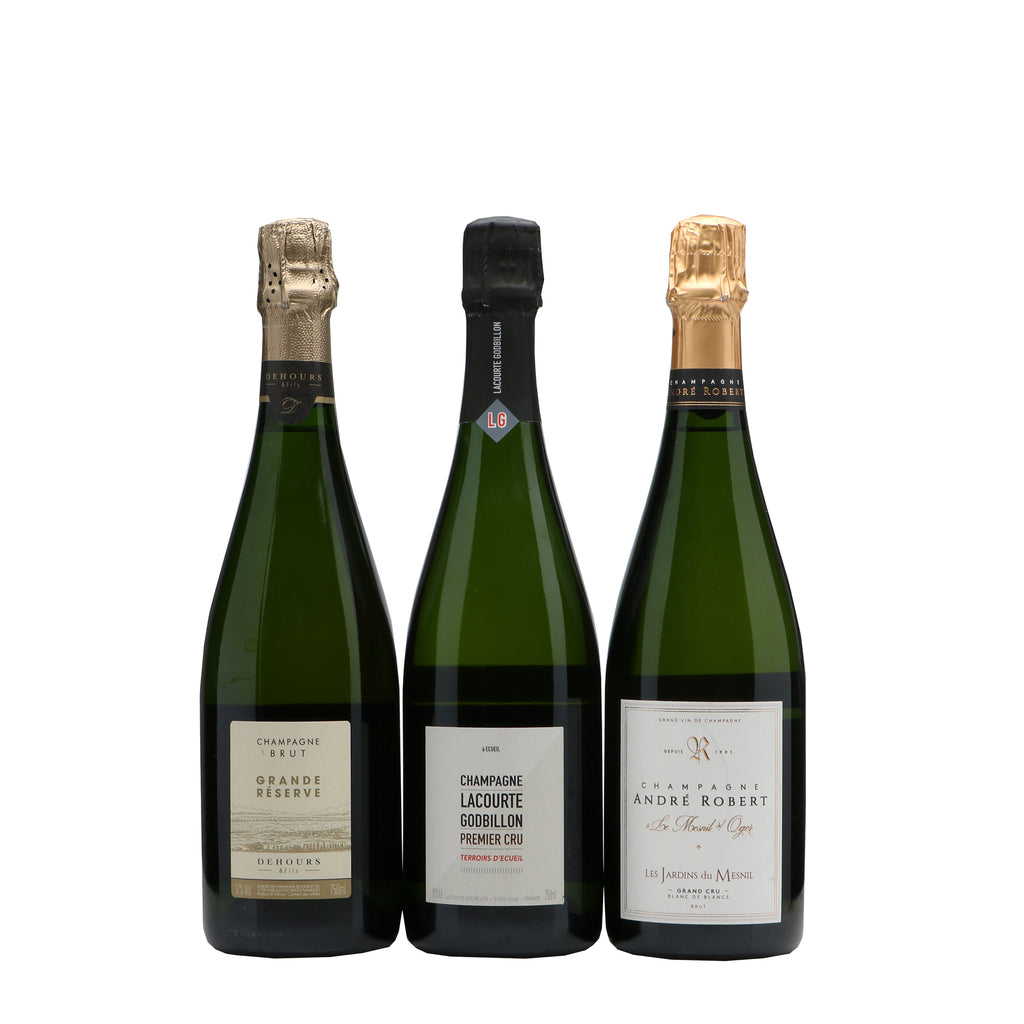 Trio Champagne Growers Giftbox
