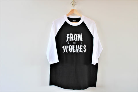 FROM THE WOLVES BASEBALL TEE