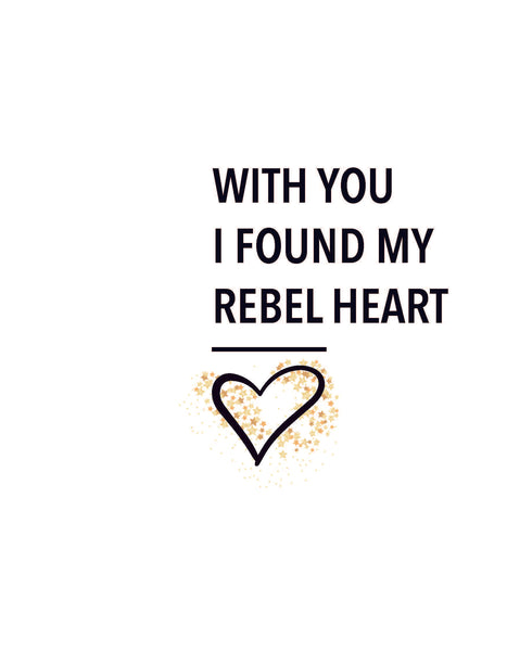 Rebel Heart Print