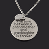 Love Between Grandmother & Granddaughter Necklace