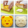 Bear Shape Sandwich Maker for Kids