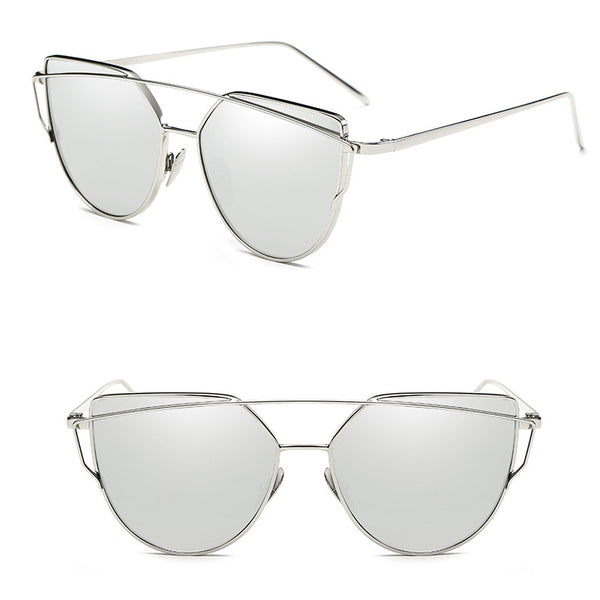Cat Eye Vintage Glasses On Person
