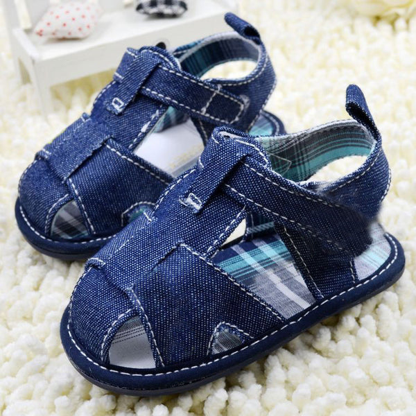 Blue Jean Baby Shoes