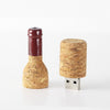 Red Wine Bottle USB - Flash Drive