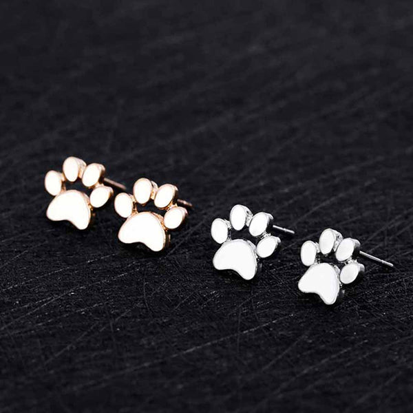 Paw Print Earrings for Women