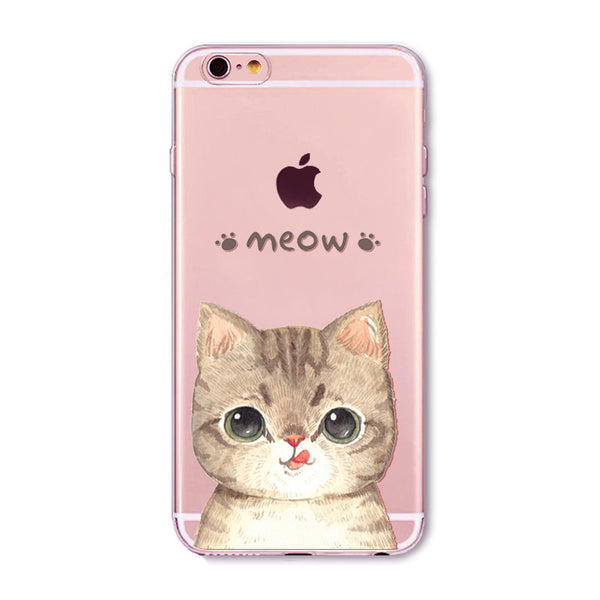 Cat Phone Case for Iphone 6/6S