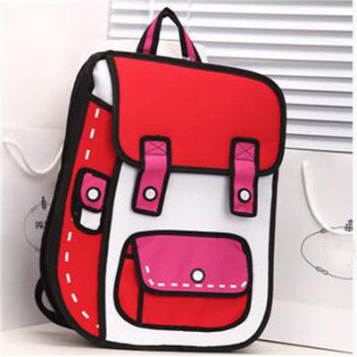 Comic Backpack