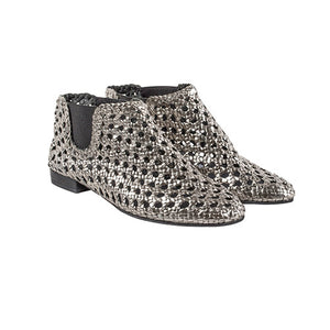 Boots Baby Jane Silver