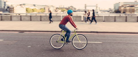urban bicycle commuter stylish