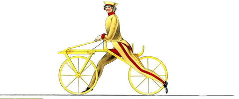 the history of bicyles Draisine