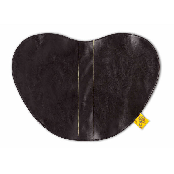 Dry Patch Moto Seat Cover Black Leather