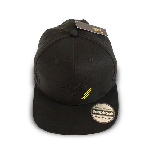 The Dry Patch Snapback cap from above