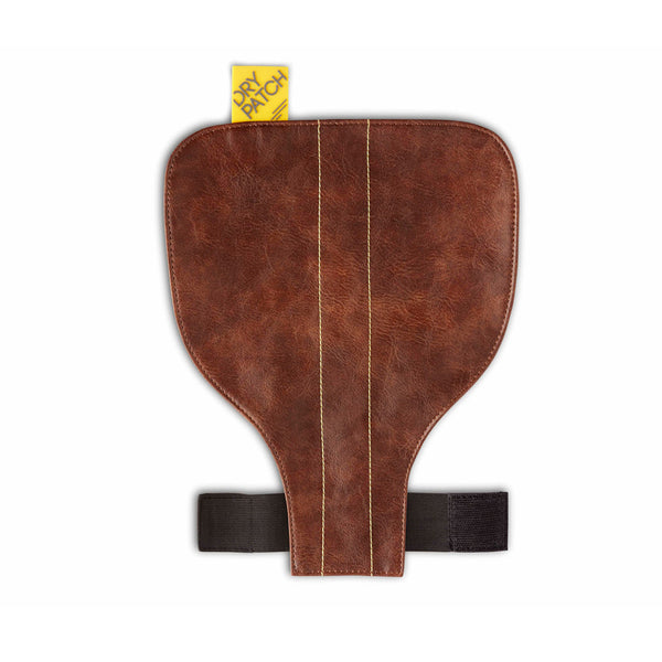 Brown leather waterproof bicycle Seat Cover for rain