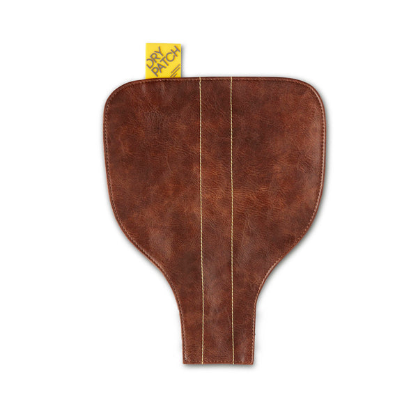 Dry Patch Velo Seat Cover brown leather