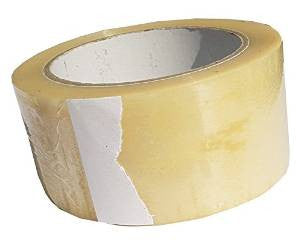 Single Roll of Clear Polypropylene Tape